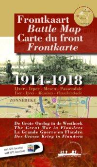 Frontkaart 1914-1918 De Grote Oorlog
