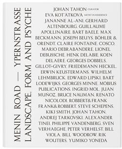 Kunstboek Menin Road - Ypernstrasse