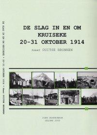 De slag in en om Kruiseke 20-31 oktober 1914, naar Duitse bronnen